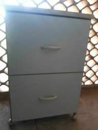 Armário arquivo para escritório com 2 gavetões