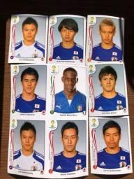 Figurinhas Japão copa 2014