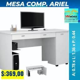 Mesa computador Ariel Branco Entrega Goiânia e Aparecida