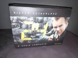 Título do anúncio: 24 Horas - Seriado coleção completa 49 discos Jack Bauer