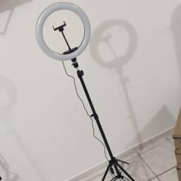 Ring light iluminação fotografia 30cm