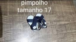 Sandália pimpolho menino