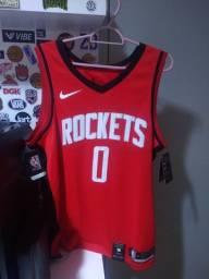 Regata Nike Swingman Nba Houston Rockets Westbrook Original