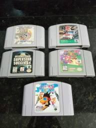 Lote Jogos Paralelos Nintendo 64