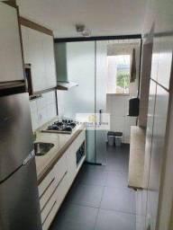 Apartamento com 2 dormitórios à venda, 45 m² por R$ 235.000 - Jardim Ismênia - São José do