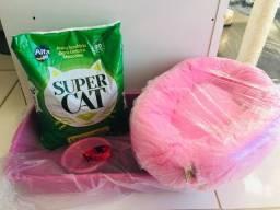 Título do anúncio: Kit macho e fêmea gato cada kit custa 116,00