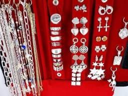 Revenda Semi joias folheados a ouro e prata a preço de atacado