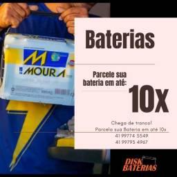 Título do anúncio: Baterias novas - entrega e instala
