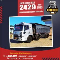 Ford Cargo 2429 - 8x2  Caçamba Agrícola
