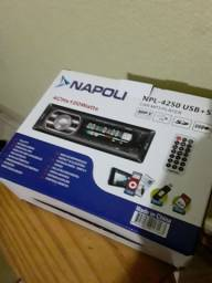 Título do anúncio: Radio Napoli npl 4250 usb sd co controle