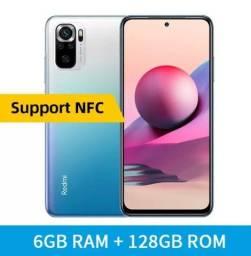 Note 10s 128gb 6gb Ram +pelicula+ Fone de Ouvido Xiaome Promoção só hoje