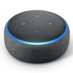 Título do anúncio: Alexa, echo dot Wifi preta