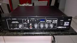 Título do anúncio: Amplificador  voxstorm psg 220 plus usb