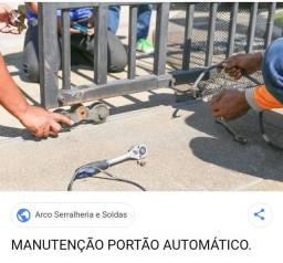 Manutenção de portão