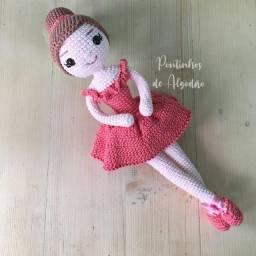 Bailarina de crochê / amigurumi