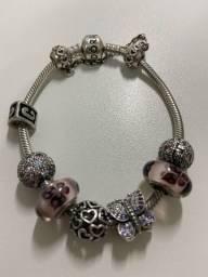 Charms Murano Borboletas Pandora