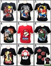 Camisas Geek Nerd Otaku Gamer