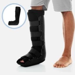 Bota Ortopédica Imobilizadora Cano Longo Bilateral para Tornozelo Pé e Calcanhar