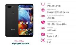 smartphone da Philco com 128 gb de Rom e 4 gb de ram!!