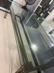 Título do anúncio: Mesa com tampo de vidro 20mm