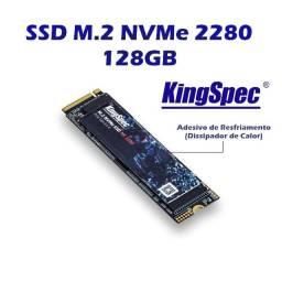 Título do anúncio: SSD 128 GB M2 Nvme KingSpec 2280