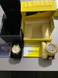 Relógios Bulova e Invicta Originais