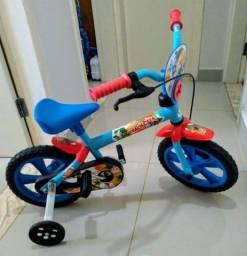 Título do anúncio: Bicicleta Infantil Trackcita Aro 12 Completa - Semi Nova