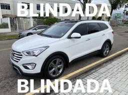 Hyundai Grand Santa Fe 2016 blindada 82.000 km