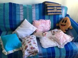 Almofadas  e travesseiros infantil com fronha