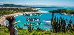 Mês de junho em Cabo Frio por R$100,00
