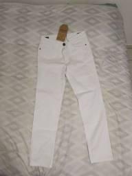 Título do anúncio: Calça jeans skinny Cavalera branca