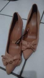 Título do anúncio: Sapato Vizzano Rosê (Nunca usado)