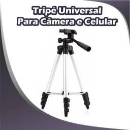 Título do anúncio: Tripé para Câmera e Celular Universal
