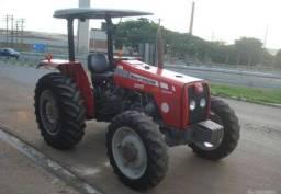 Título do anúncio: Trator Massey Ferguson 255 4x4 ano 10