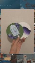 Título do anúncio: CD com pintura esthetic para decorar a parede