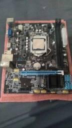 Título do anúncio: processador, memoria ram, fonte, placa mae, cooler( kit pc )