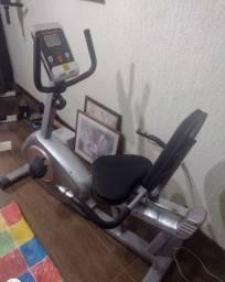 Título do anúncio: Bicicleta Ergométrica Horizontal Athletic 2908H
