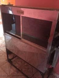 Máquina assadeira giratória de frango