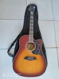 Vendo violão novo. Michael com nota fiscal e capa. Troco por celular completo com NF.