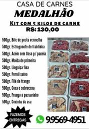Título do anúncio: Carnes Medalhão/ Kit's fresquinos embalados diariamente