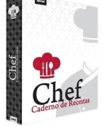 Caderno de Receita Chef