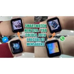 Relógio smartwatch unissex atualizado
