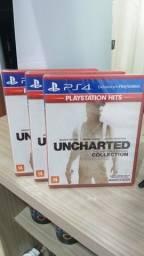 Uncharted Collection novo lacrado