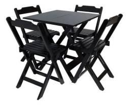 Título do anúncio: Jogos de mesa com 4 cadeiras para bar