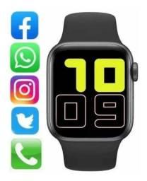 Smartwatch x6 relógio inteligente, atende ligação