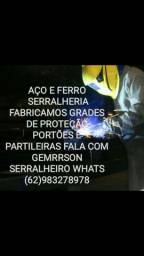 Título do anúncio: AÇO FERRO SERRALHERIA FALA COM GEMERSON