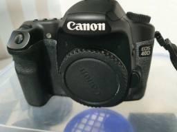 Título do anúncio: Canon 40D com aproximadamente 7000 cliques