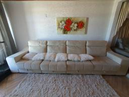 Título do anúncio: Sofa cama 6 lugares reclinavel