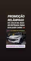 Relâmpago! R$1MIL DE ENTRADA SHOWROOM(TORO VULCANO 4X4 DIESEL AUTOMÁTICA 2018) - 2018