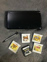 Nintendo 3DS Cosmo Black + 5 Jogos comprar usado  São Leopoldo
